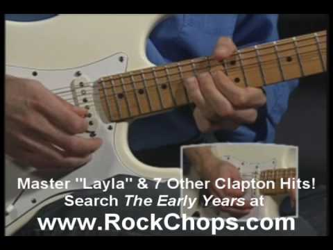 Eric Clapton Tabs Layla Video Guitar Lesson