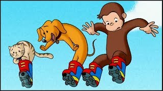 Curious George 🐵 Roller Monkey 🐵Full Episode | Cartoons For Kids | Kids Movies