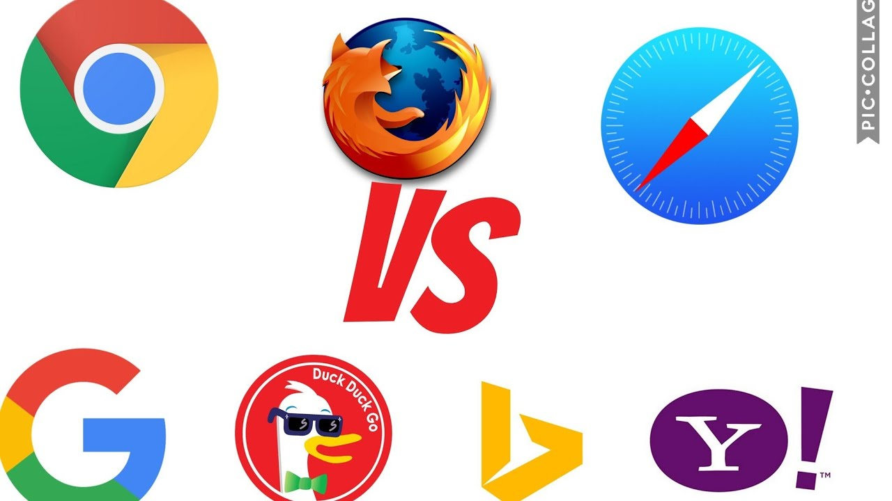 Chrome vs bing vs safari vs yahoo vs Firefox vs DuckDuckGo