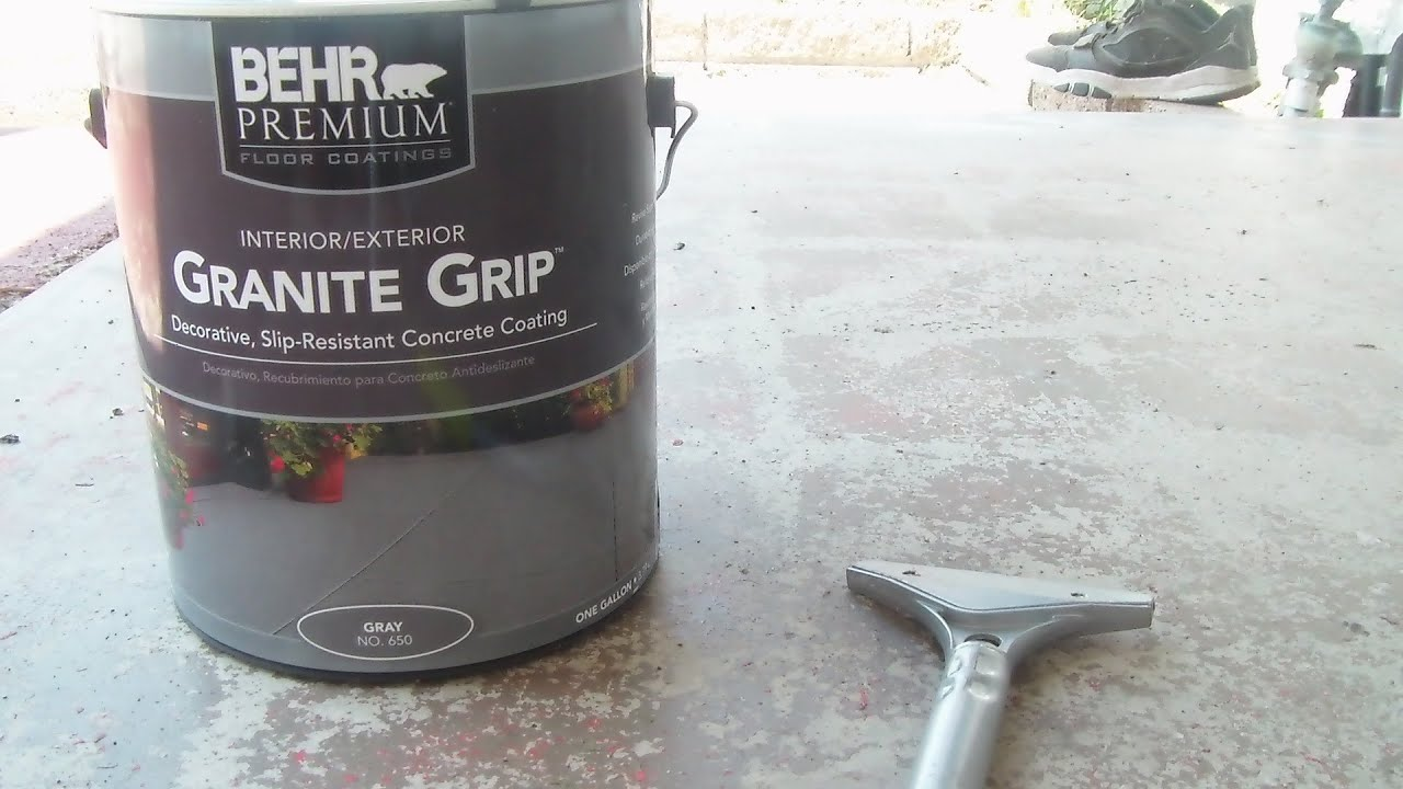 Home Depot review Behr Granite Grip