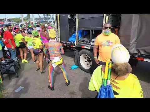 Live jouvert miami Streaming Miami Florida Caribbean Carnival 2021 USA, west indian usa