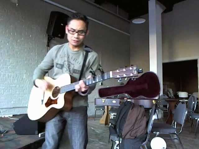 """Sea Side Porch"" (Sir Christian Music Original) - 3/30/12 Pre-Open Mic Recording"