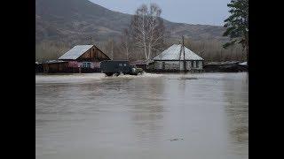 Наводнение в Восточном Казахстане! Люди в шоке!