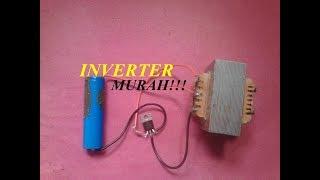 Download Video Cara Menyalakan Lampu 220V AC Dengan Batrai 3.7V DC // INVERTER MURAH!!! MP3 3GP MP4