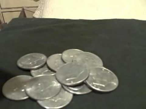 Silver Coins -  How to do a tone/sound test for pure silver or 90% silver US
