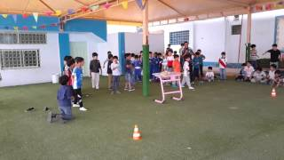 فقرة من فقرات الألعاب الصغيرة بمدارس الرواد بردة القسم الابتدائي تحت إشراف الكابتن محمد عز