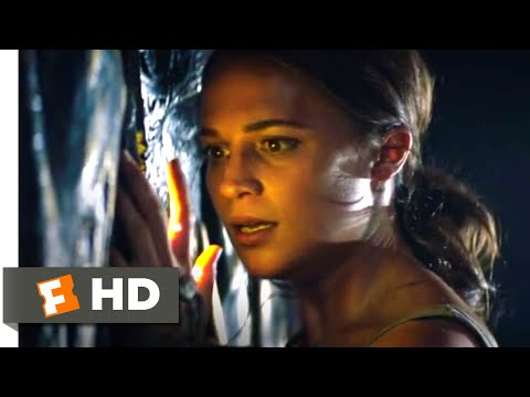 Tomb Raider (2018) - Collapsing Floor Trap Scene (6/10) | Movieclips