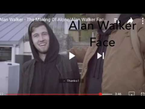 alan walker and marshmallow face reveal youtube