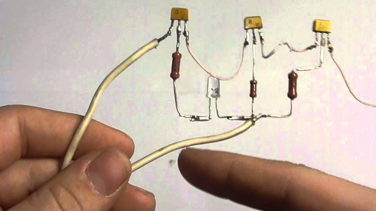 Псевдосенсорный выключатель своими руками