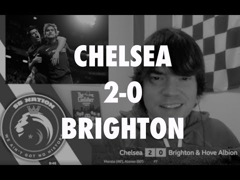 Chelsea 2-0 Brighton: Post-match reaction