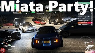 Forza Horizon 4: Multiplayer Fun! 1,000+ HP, AWD, LIFTED Miata Build and Off-Roading!!