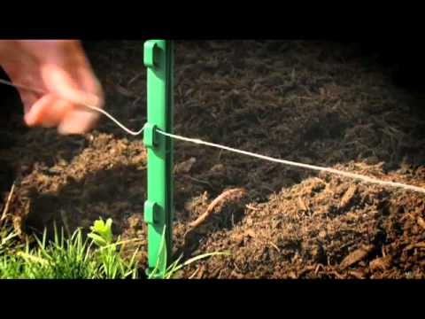 hqdefault wiring your havahart� above ground electric fence kit youtube No Dig Fencing at gsmx.co