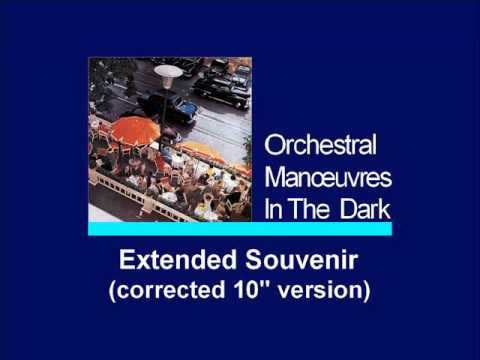 OMD - Extended Souvenir (corrected 10'' version)