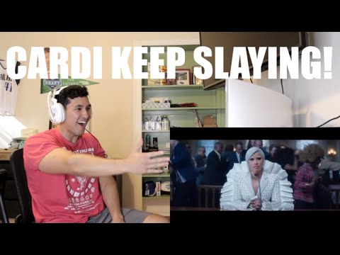 Repeat Cardi B Press Official Music Video Reaction Omfg By