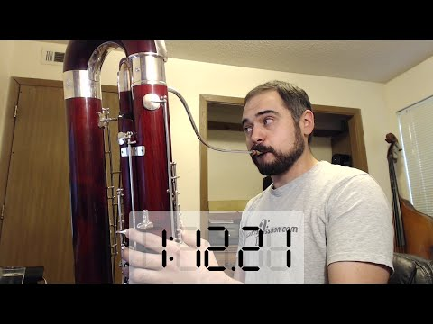 75 Seconds Long Contrabassoon Low Bb
