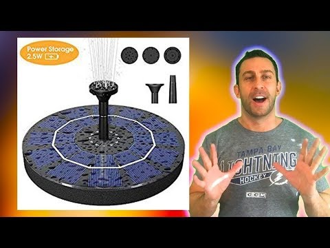The Greatest Solar Power Fountain Pump Reviewed