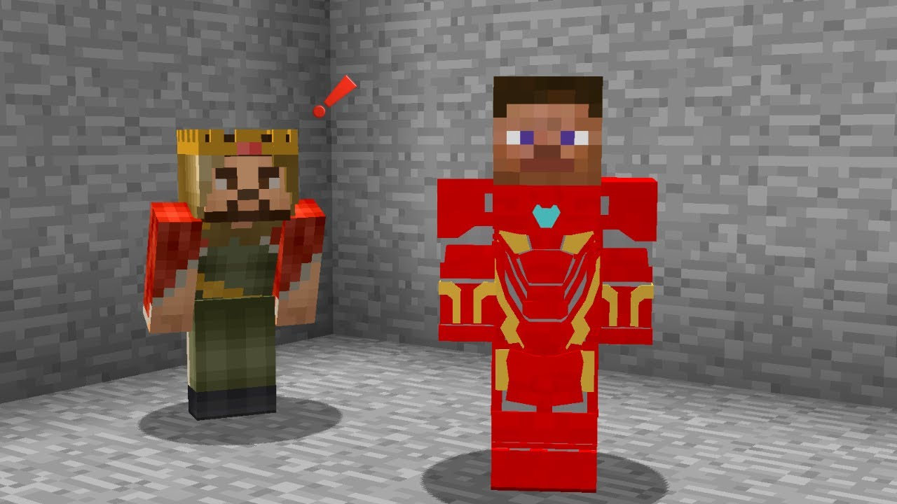 Download FAKİR IRONMAN ZIRHI GİYDİ ZENGİN'İ KORUDU! - 😱 - Minecraft