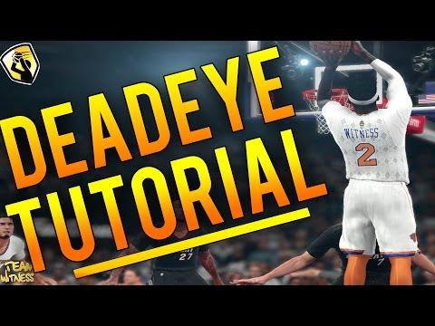 NBA 2K16 Tips: How To Get DEADEYE Badge! FASTEST And EASIEST Way To Get DEADEYE! (Tutorial)