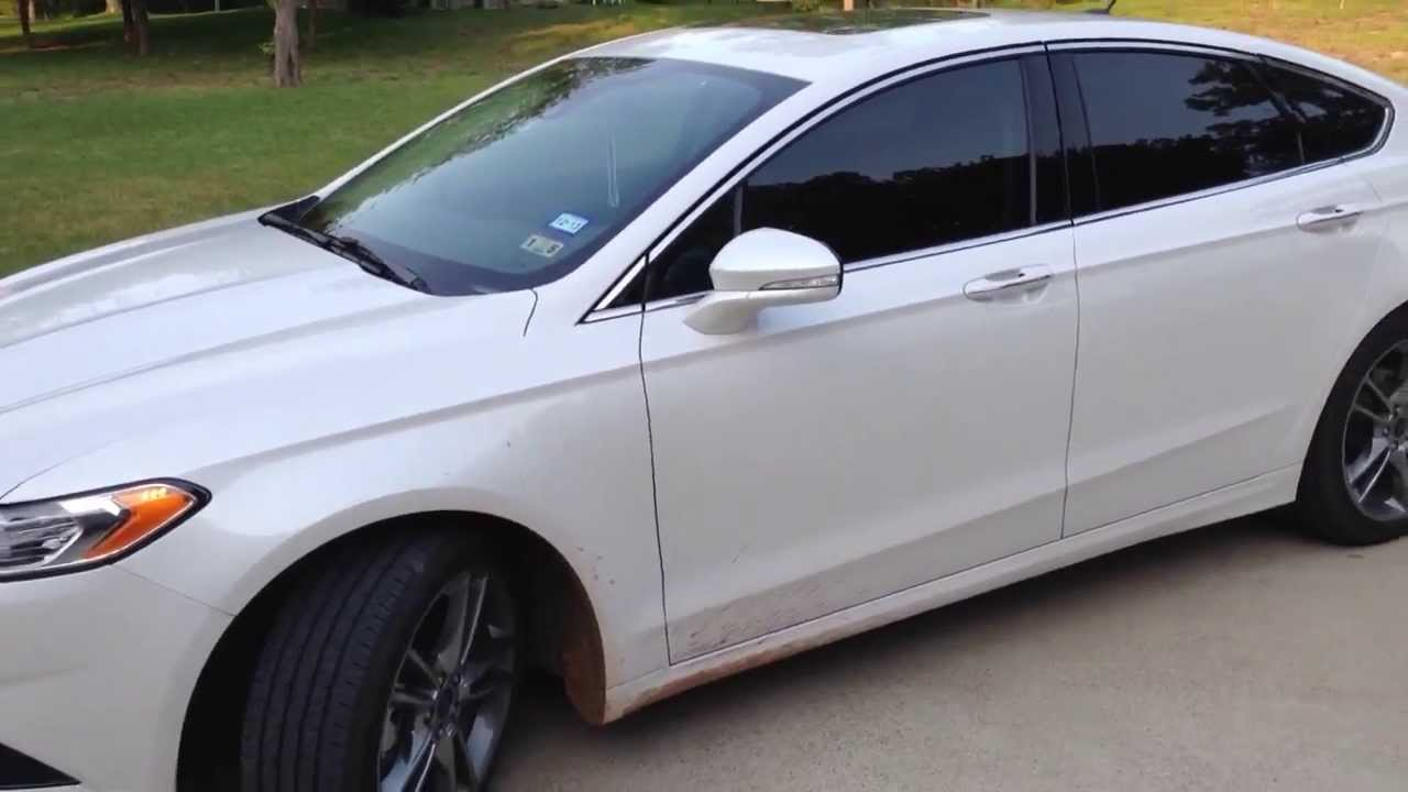 2017 Ford Fusion Anium Smart Key Functions