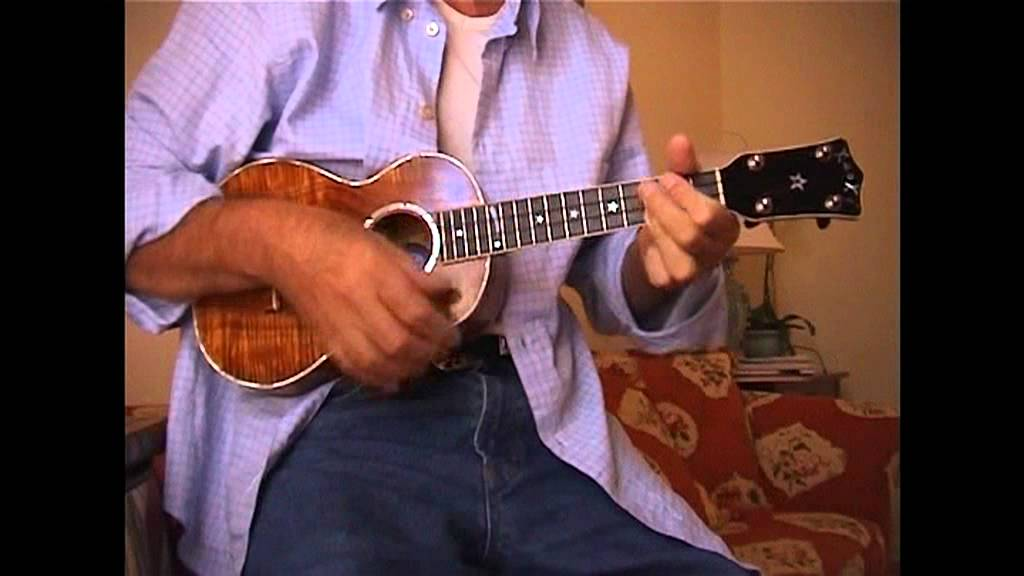 George Harrison Plays The Ukulele At Home Youtube