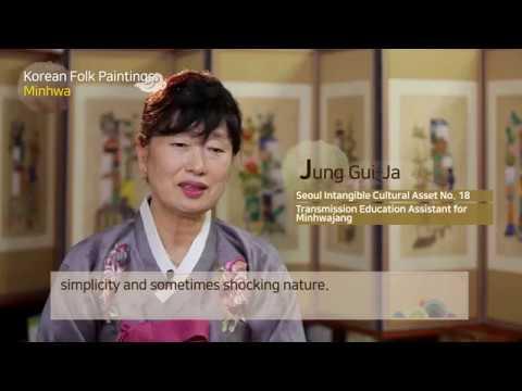 Korean folk painting  Minhwa