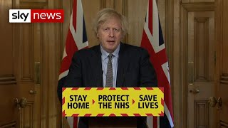 Watch live: Boris Johnson holds a news conference as the UK marks one year since the first lockdown