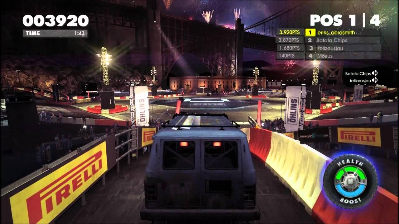 DiRT Showdown Demo multiplayer Gameplay 1 - YouTube