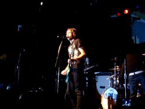 Alex Gaskarth blacks out. 11/21/07