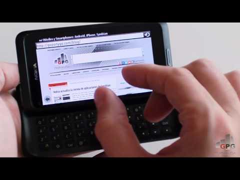 Review del Nokia E7 en español | goponygo.com