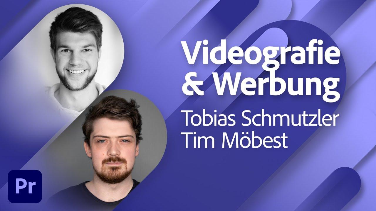 Film & Video mit Tobias Schmutzler von FilmCrew Media und Tim Möbest |Adobe Live