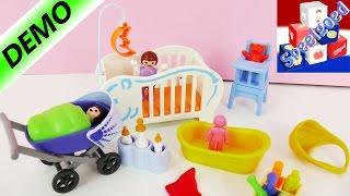 Playmobil 6226 - Baby-uitzet met kinderwagen babybadje en babybedje