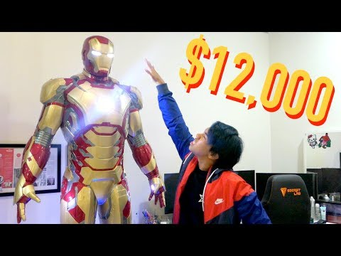 MY $12,000 LIFE-SIZED IRON MAN SUIT