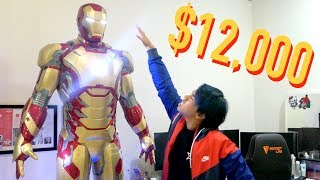 MY $12,000 LIFE-SIZED IRON MAN SUIT