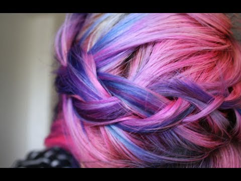 My Little Pony (Ombre Cotton Candy Hair) Tutorial 20% Off ...