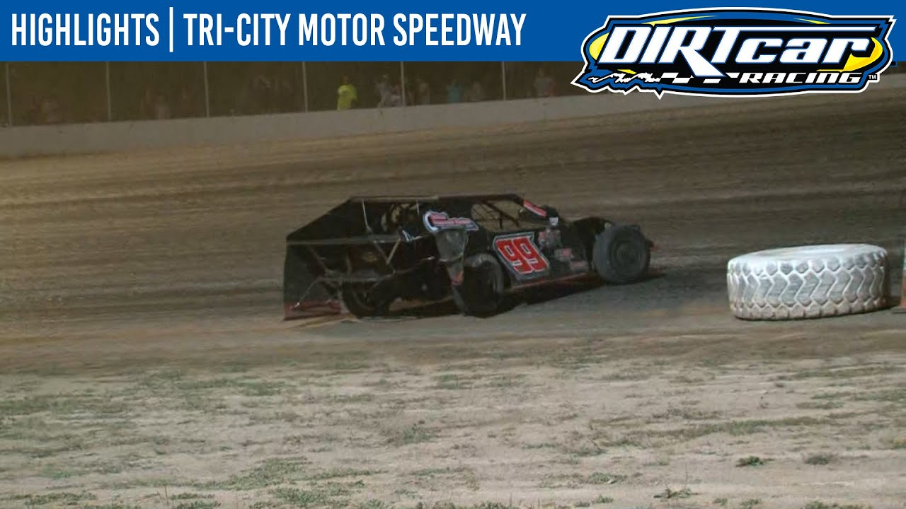 DIRTcar Summer Nationals Modifieds Tri-City Motor Speedway August 21, 2020 | HIGHLIGHTS