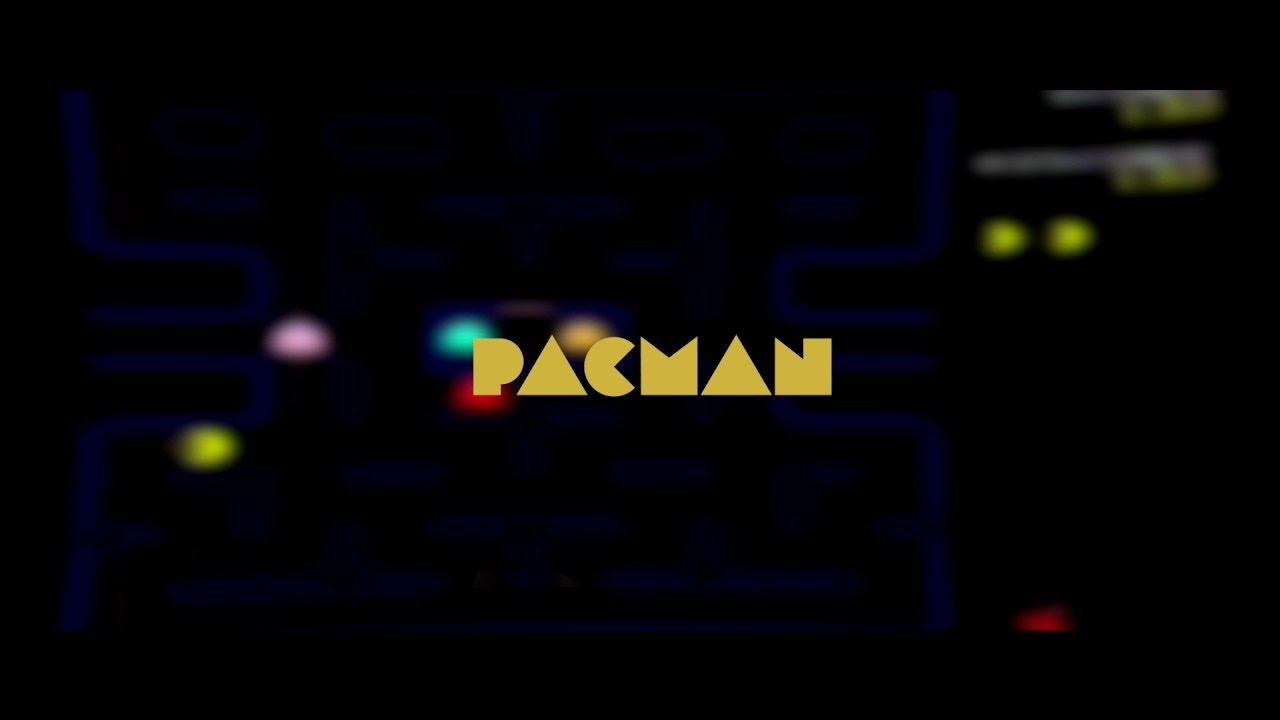 free 2d pacman after effects intro template 734 tutorial youtube