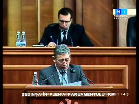 Discursul lui Mihai Ghimpu