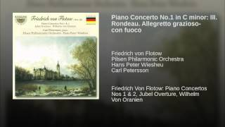 Piano Concerto No.1 in C minor: III. Rondeau. Allegretto grazioso- con fuoco