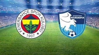 Fenerbahçe - BB Erzurumspor maçı ne zaman, hangi kanalda, saat kaçta?