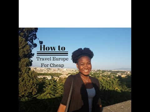 1. Trini Travels | How to Travel Europe for Cheap!