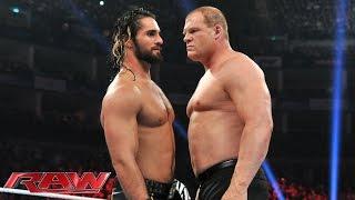 Kane vs. Seth Rollins: Raw, April 13, 2015