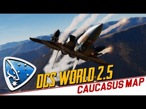 DCS World 2 5: Caucasus Map