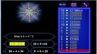Game Maker Tutorial - Who Wants To Be A Millionaire