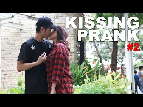 Kissing Prank #2 - Kiss Me or Slap Me Challenge! thumbnail
