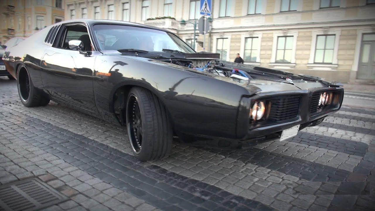 HP Dodge Charger Cid L The Most Badass American - Badass old cars