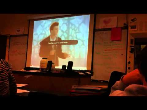 Thumbnail: I Rick Roll My Entire Chemistry Class!