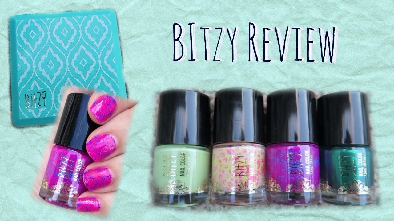 First Impressions of Bitzy Nail Polish from Sally Beauty Supply ...