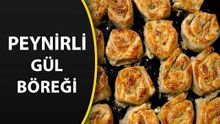 Hazır yufkadan fırında peynirli gül böreği tarifi - Farklı Börek Tarifleri