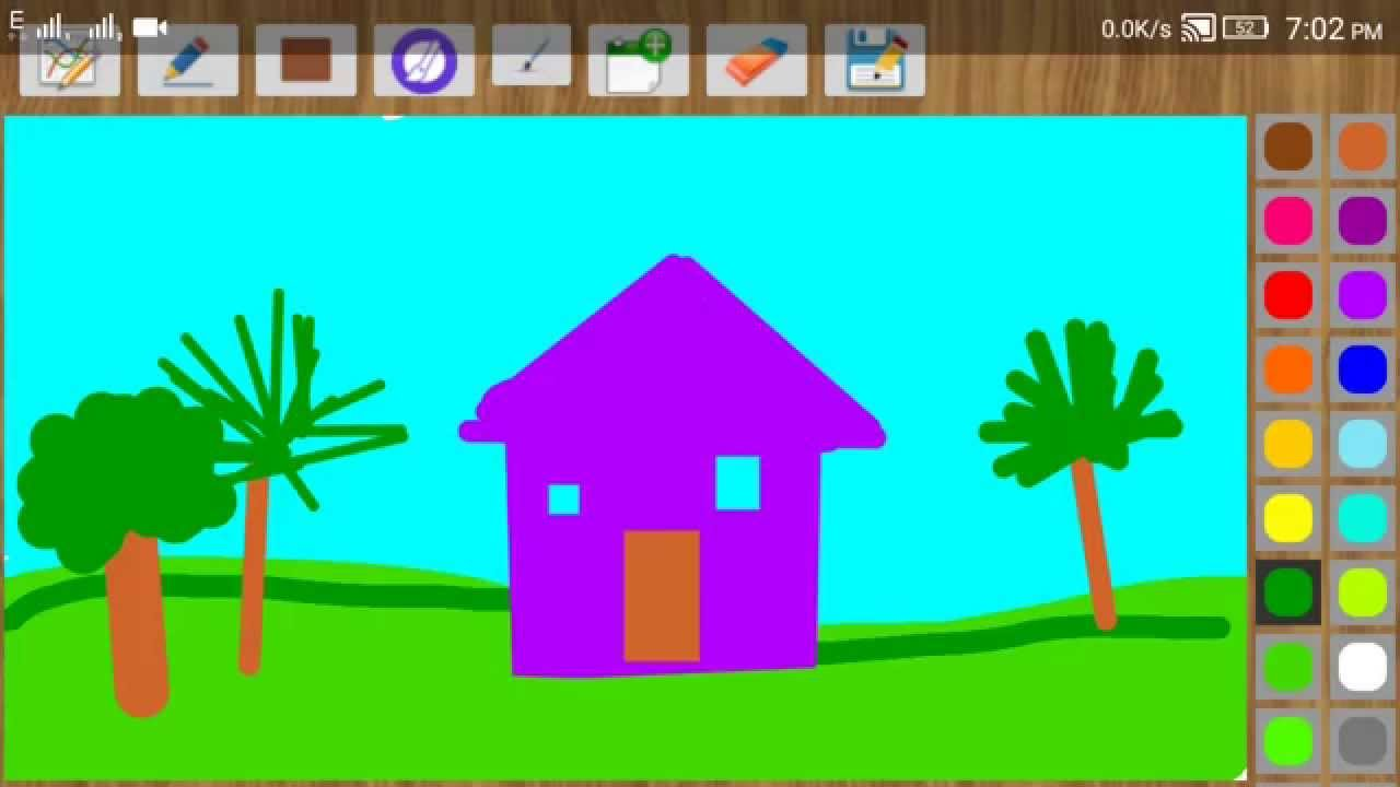 Painting and Drawing App For Kids - YouTube