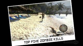 Dead Island Top 5 Zombie Kills Gameplay (PC, PS3, Xbox 360)